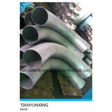 Butt Welding Large Radius Stainless Steel Pipe Bend