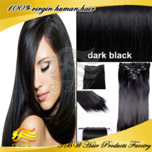 Wholesale Factory Price Grade 6A 100% Indian Virgin Clip Hair