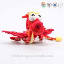 ICTI factory wholesale large stuffed dragon & carnival dragon plush dragon