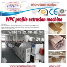 Líneas de máquinas de procesamiento de WPC llave en mano