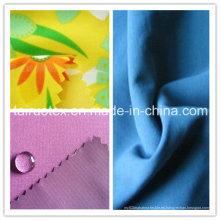 Piel impresa impermeable del melocotón con de alta calidad para la tela de la ropa