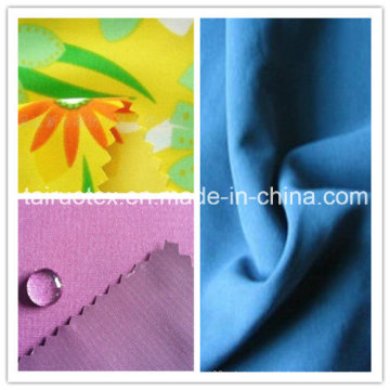 Waterproof Printed Peach Skin with High Quality for Garment Fabric