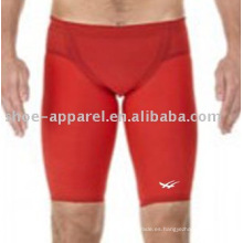 Traje de baño atractivo de los hombres del color rojo para la competencia 2013