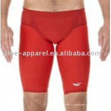 Сексуальный красный цвет мужчины купальники для конкурса 2013 года