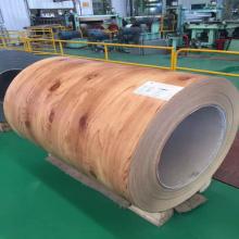 PPGI Prepainted bobina de aço galvanizada grão de madeira PPGI bobina folha