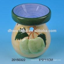 Home Dekoration Keramik Öl Brenner mit Obst Figur
