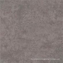 Carré de couleur grise en porcelaine polie en salle de séjour