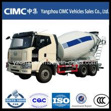 Faw 10cbm 6 * 4 Camión mezclador de cemento