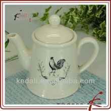 500 ml tea pot with animal design ceramic tea pot