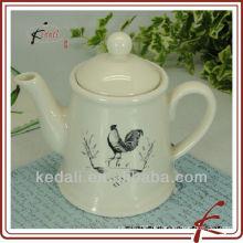 500 ml pote de chá com design animal cerâmica pote de chá