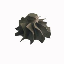Turbine wheel compressor wheel lost-wax-casting
