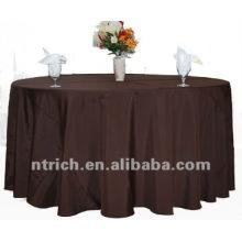 barato y excelente mantel del poliester 100%, cubierta de tabla de fiesta, ropa de mesa
