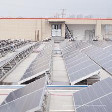 Montaje solar fotovoltaico de techo plano de 100KW fuera de la red