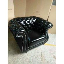 Воск кожаное кресло для отдыха, мебель для гостиной (XT-09)