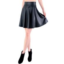 High Waist Skirt Leather Skirt Mini Skirts