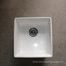 Factory supply wholesale high temperature resistant top mount integrated kitchen tops self contained sinks
