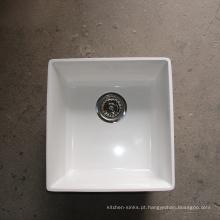 Fornecimento de fábrica por atacado de alta temperatura resistente top mount cozinha integrada tops auto-contido pias
