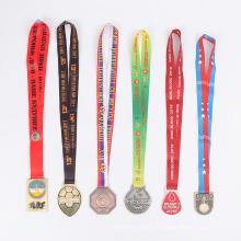 Exposição de medalha de natação personalizado de qualidade superior para crianças