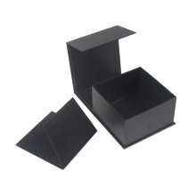 Partihandel Square Foldable Black Hänge Box Packning