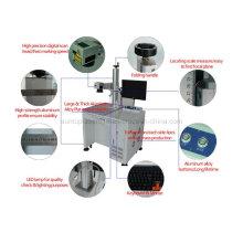 Máquina de láser de láser de metal / máquina de láser para perforación en latón / láser de perforación