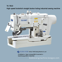 TK-781D direct drive high-speed lockstitch straight button holing industrial sewing machine