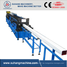 Hotsale Aluminium Vierkant-Fallrohrwalzenformmaschine