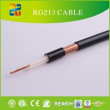 Fabriqué en Chine à faible perte 50 Ohm Mil-C-17 Rg213 Câble coaxial