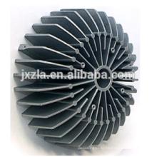 100w круглый алюминиевый корпус тепловой экструзии светодиодная лампа теплоотвод
