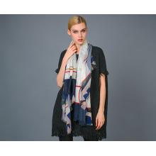 Alashan Kammgarn Kaschmir Garn Farbstoff Schal, weich / luxuriöse Textur