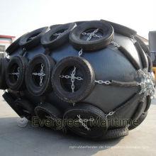 Schwimmende pneumatische Gummipuffer mit Kette und Reifen