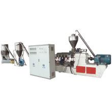 Machine de granulation de PVC + bois composite en poudre