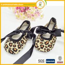 2015 novo produto quente venda de algodão tecido dança sapatos sapatos de dança de dança de bebê