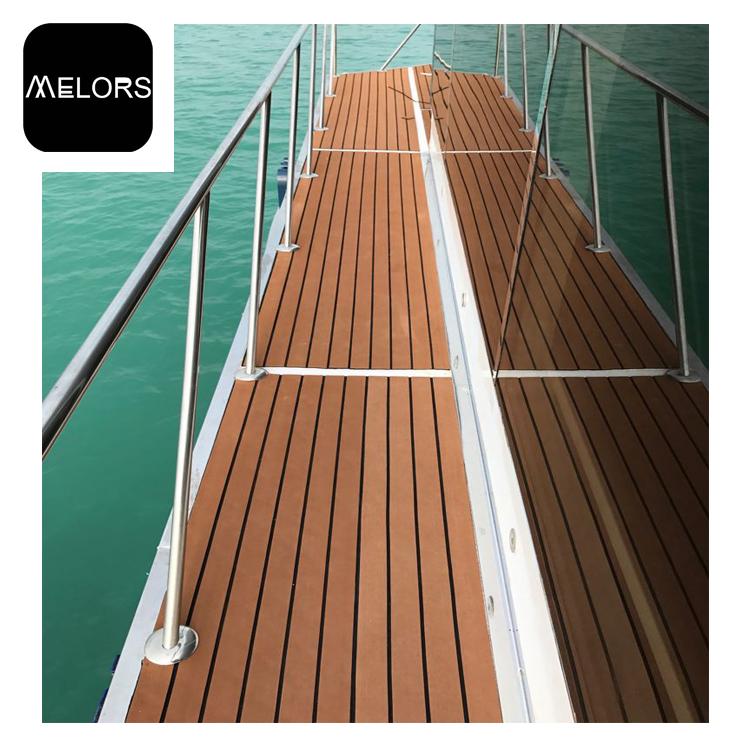 EVA Foam Teak Decking Sheet Boat Tavolo Marina Barca Yacht Sintetico Pad Brown