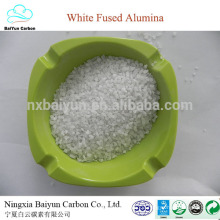 0-1,1-3,3-5,5-8mm 99,3% min weiß verschmolzenes Aluminiumoxid Körnung