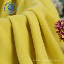 DTY polyester anti pilling micro polar fleece fabric