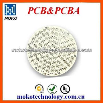 aluminum based round led pcb assembly