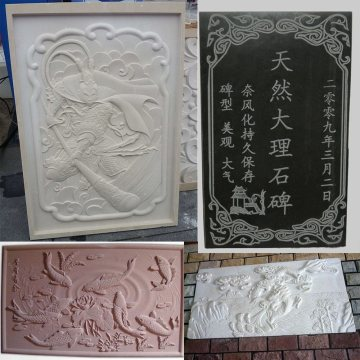 CNC Router Stone para Onyx Jade Carving Relief