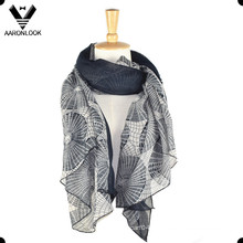 Echarpe Soft Voile Mode Fashion Lady
