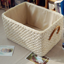(BC-ST1036) High Quality Handmade Natural Straw Basket