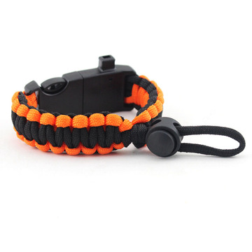 Custom Mens 2 Color Paracord Armband