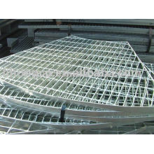 Annular steel grating , annular grating