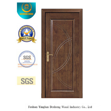 Chinese Design MDF Door for Interior with Brown Color (xcl-011)
