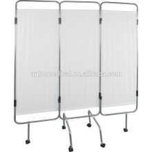 Stainless Steel Folding Hospital Ward Screen with 3 Sections