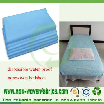 Medizinische blaue nicht gesponnene Krankenhaus-Bettlaken