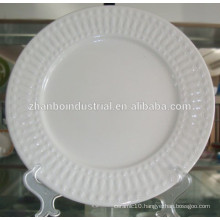 Ceramic Embossed Dish/Plate