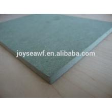 Panneau en MDF imperméable 4 * 8ft haute qualité, MDF vert