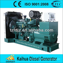 150kw volvo open type CE approved diesel generator