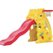 Commercial Kids Outdoor Plastic Playground Slide Equipments