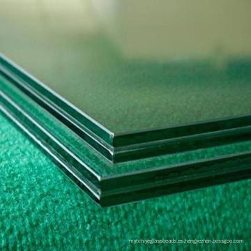 Decorativo transparente y teñido de vidrio laminado endurecido para el hogar