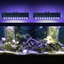 Barre d'éclairage d'aquarium à spectre complet LED, 165 W